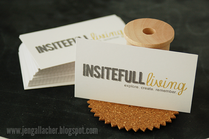 Five ways to dress up your craft business cards jen gallacher i wanted something subtle on the back of the card so i turned to my friend gennifer bursett for some advice she owns the very cool pixels and company colourmoves Images