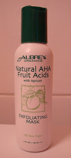 Aubrey Organics kooriv mask AHA hapete ja aprikoosiga