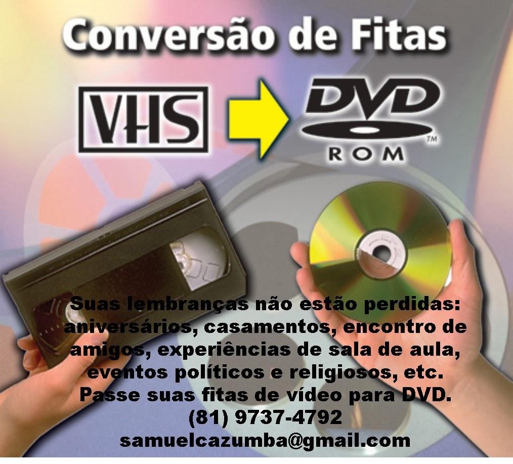 FITA DE VÍDEO PARA DVD