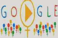 Día Internacional de La Mujer 2014: doodle animado interactivo de Google