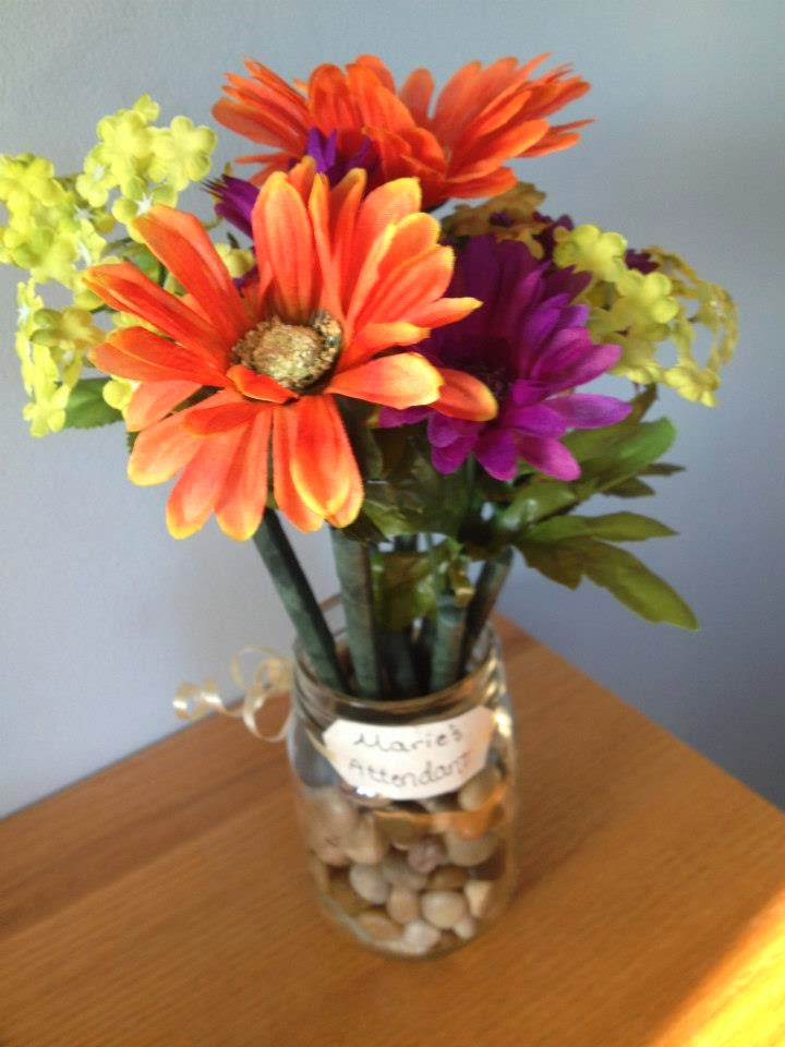 Twins in the Cities: Flower Pen Bouquets