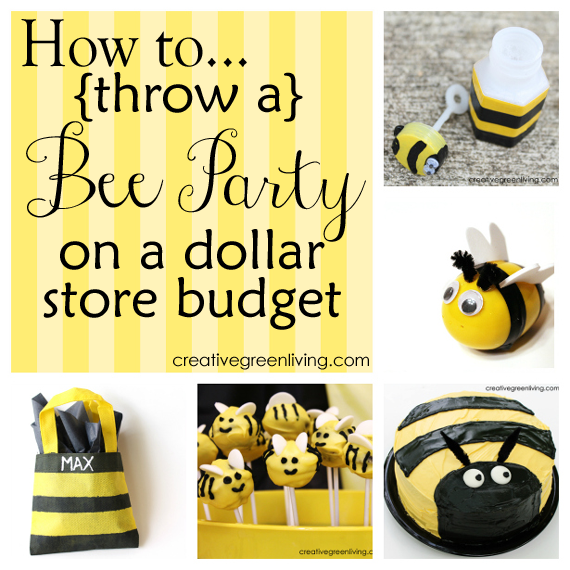 Bumble Bee Birthday Party Decorations
