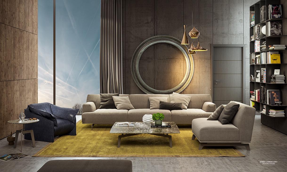 fotos de salas modernas