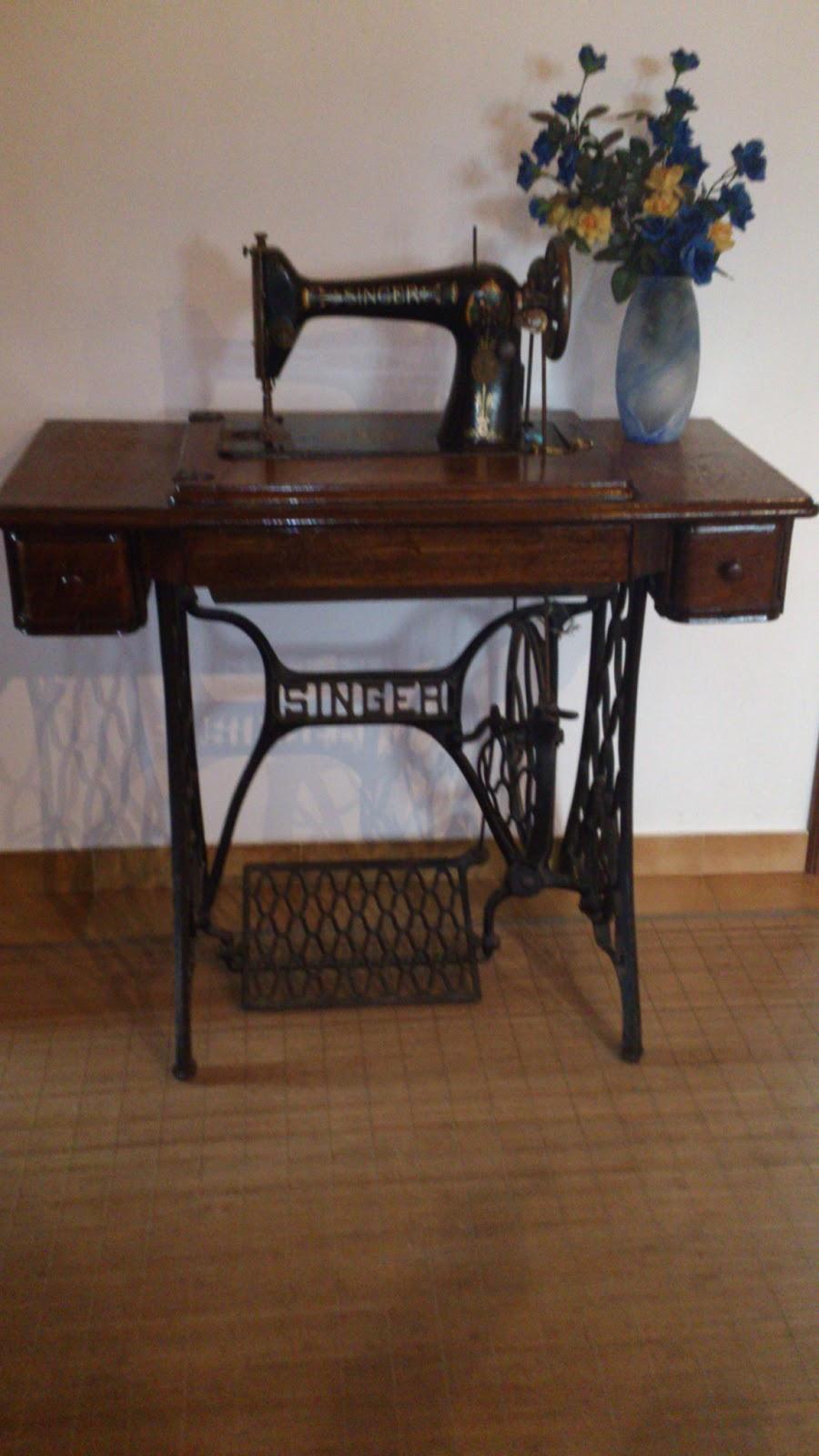 Antigallas m quinas de coser antiguas singer y sigma - Maquinas de coser restauradas ...