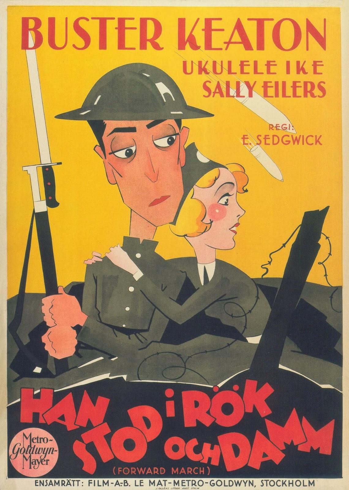 Sinopsis Versión española de Doughboys (1930). (FILMAFFINITY)