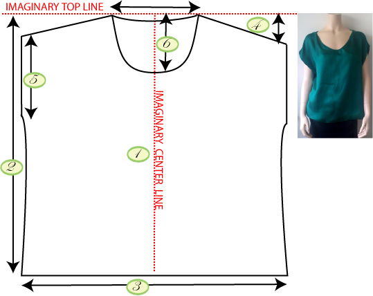 Сшить блузку своими руками без выкройки быстро из ситца