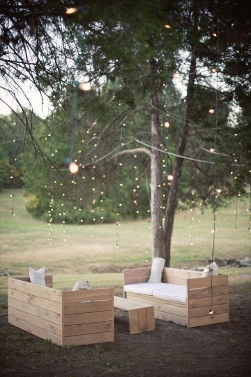 Pallet garden exterior beauty diy ideas pallet for Garden furniture plans