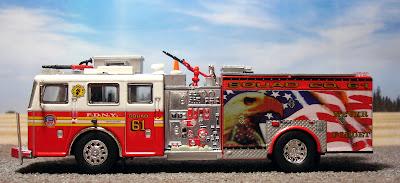 FDNY Squad 61 Seagrave Pumper