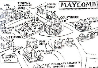 I Need Geography: Mapping Maycomb
