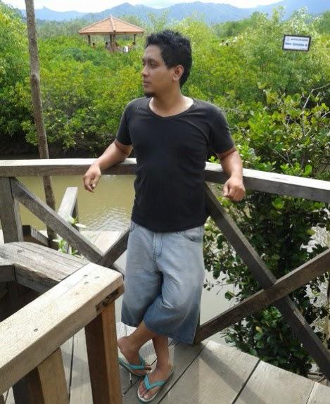Salah satu sudut keindahan tanaman Mangrove Prigi