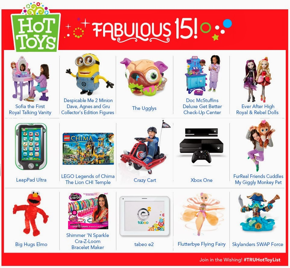 Toys R Us hot toy list