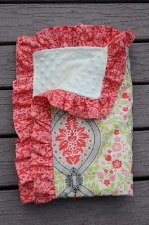 Minky Baby Blanket Tutorial