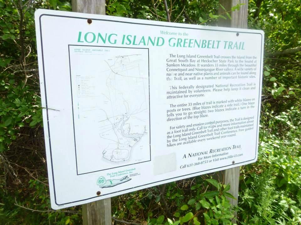 Hiking Long Island Greenbelt Trail