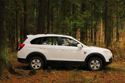 Cho thuê xe Chevrolet Captiva Maxx LTZ