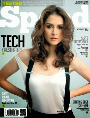 Marian Rivera covers Speed Magazine January 2014 Issue
