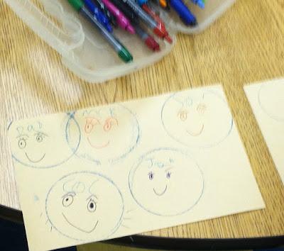 circle stamping faces (Brick by Brick)