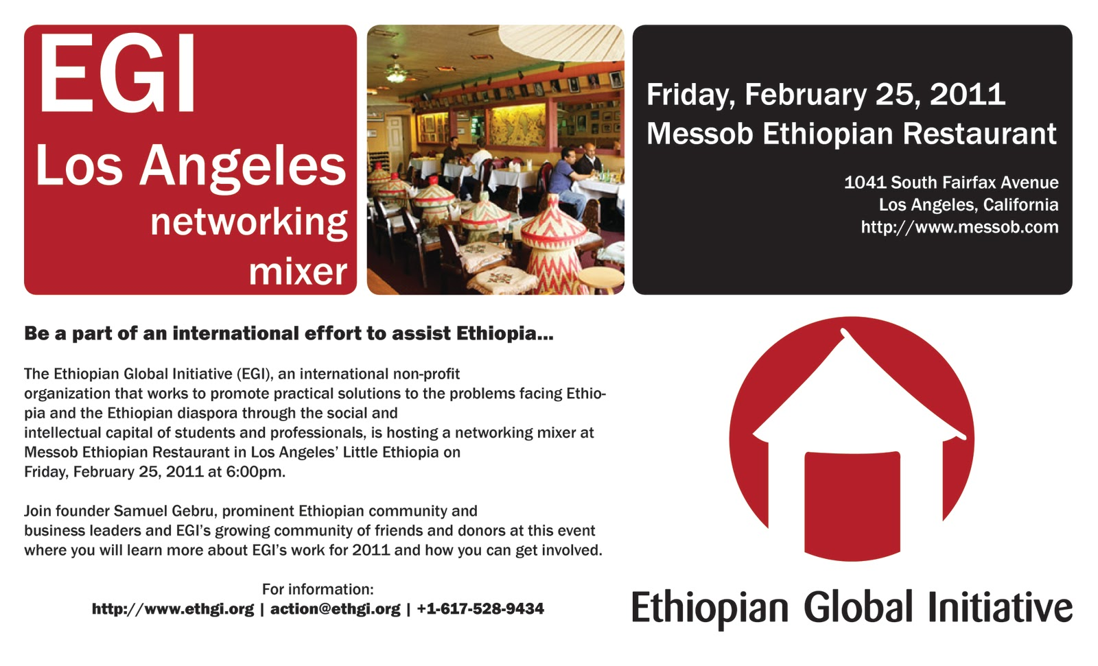 Youth Business Mixer ~ Esai ethiopian students association int