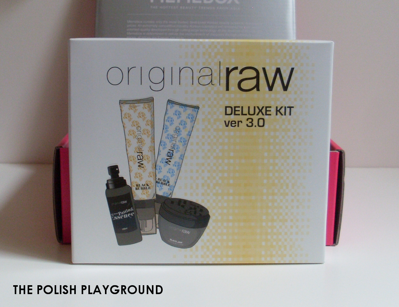 Memebox Special #35 Moisture Surge Unboxing - original raw Deluxe Kit Version 3.0