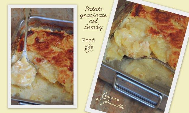 patate gratinate col bimby al gorgonzola