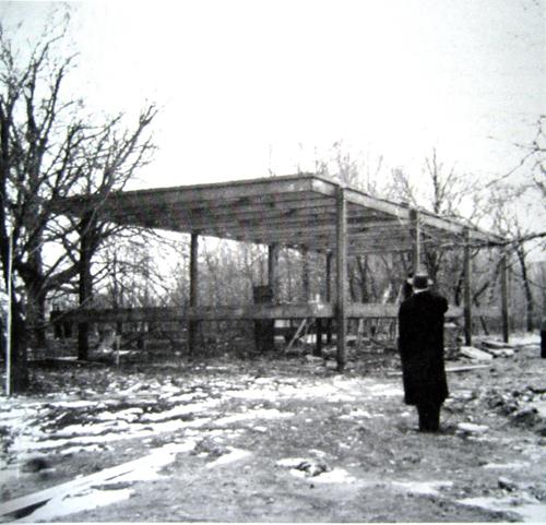 Especiesdeespaciosenconstrucci n casa fansworth 1951 for Casa minimalista de mies van der rohe