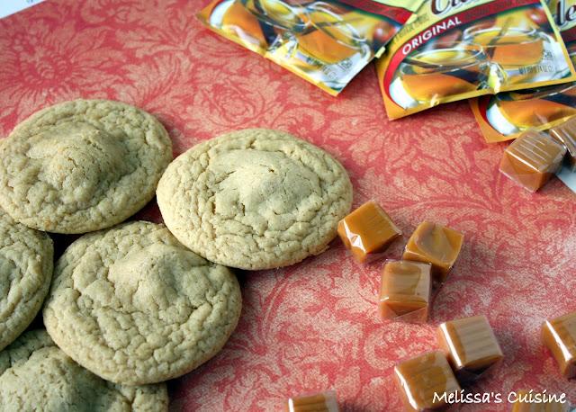 Melissa's Cuisine: Caramel Apple Cider Cookies