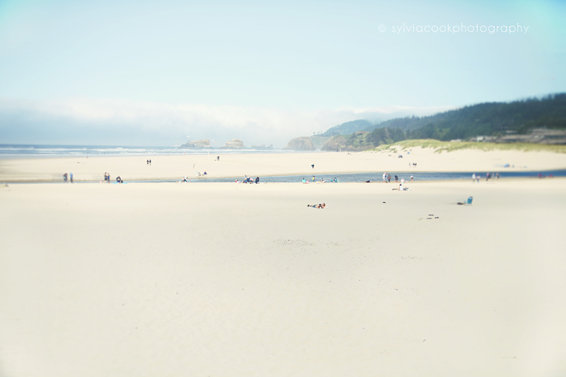 ocean, beach photograph, Cannon Beach Oregon