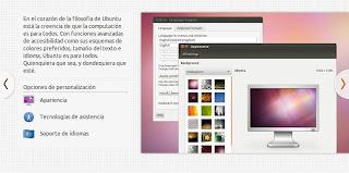 Diapositiva de la instalación de Ubuntu 12.04 LTS