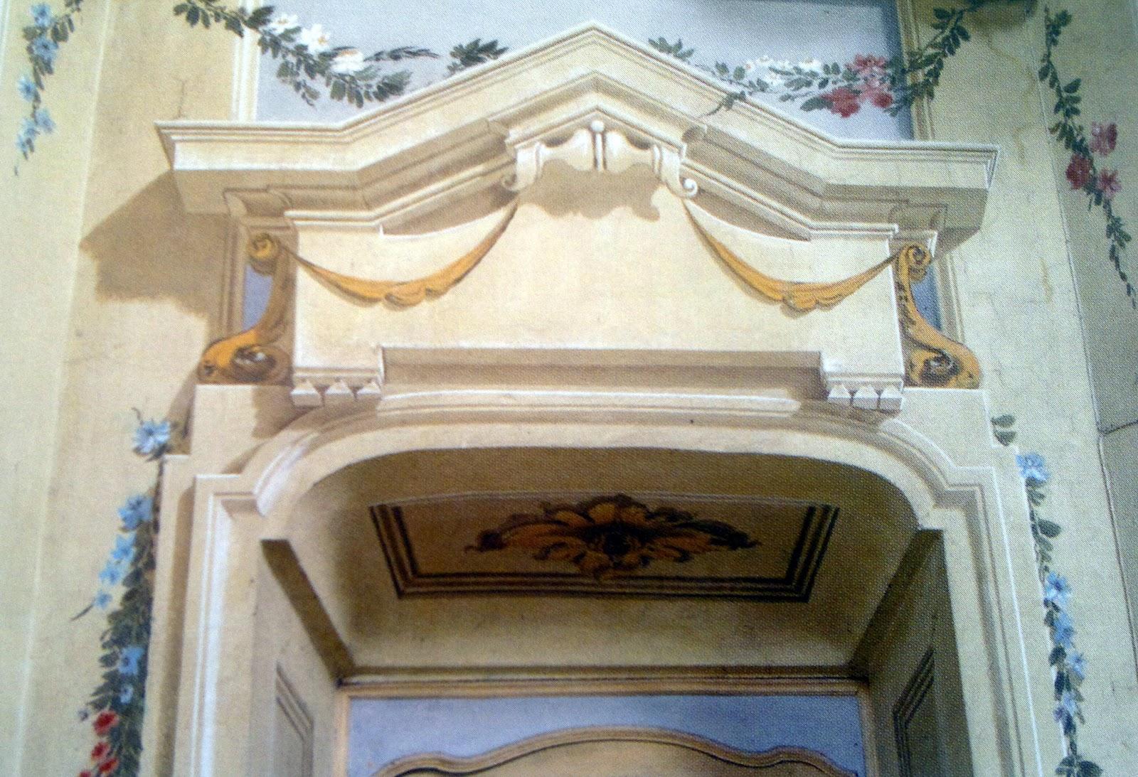 Dipinti Murali E Pittura Ad Ago : Archi & tetti: decorazione parietale