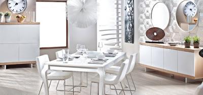 Do%C4%9Fta%C5%9F Yemek Odalar%C4%B1 Tak%C4%B1mlar%C4%B1 550x258 Tepehome yemek odası modelleri
