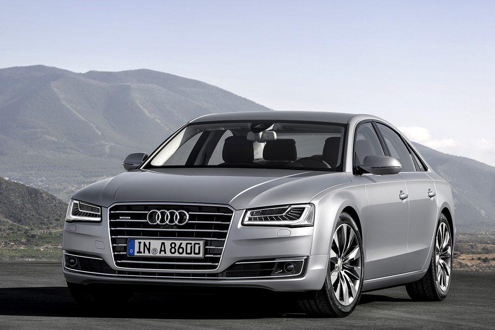 novo Audi A8 2014 frente