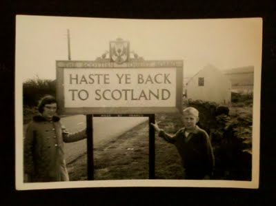 Haste Ye Back to Scotland -- SatSnap Challenge | Definitely ME