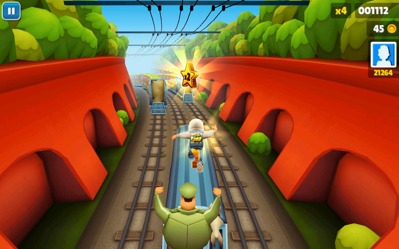 game subway surfers play