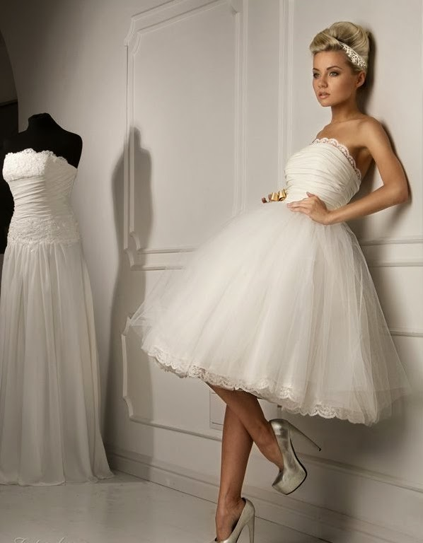 WhiteAzalea Ball Gowns: Short Ball Gown Wedding Dresses Make You ...