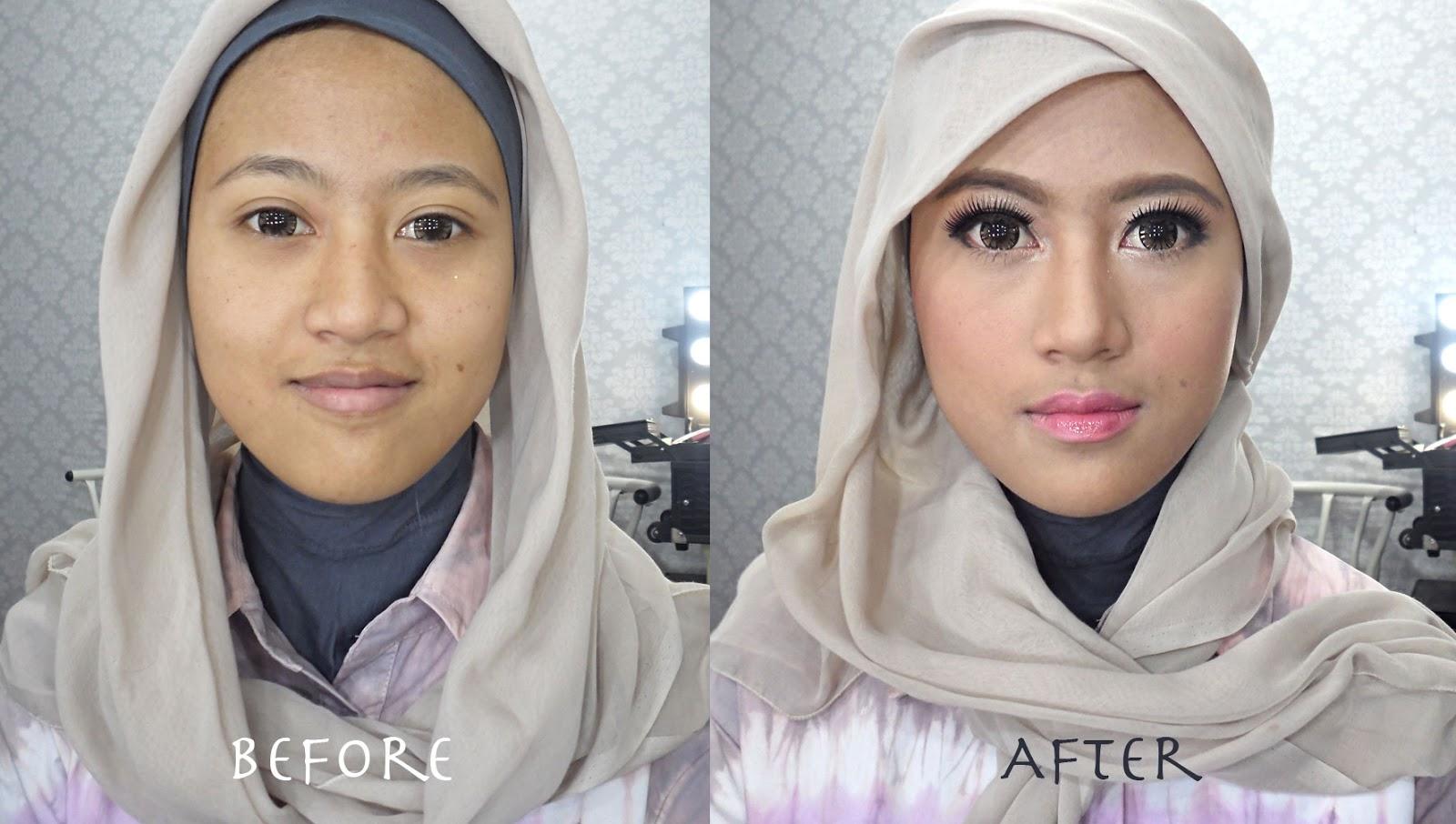 Ini Vindy Yang Ajaib Makeup Dan Hijab Tutorial Untuk Lebaran