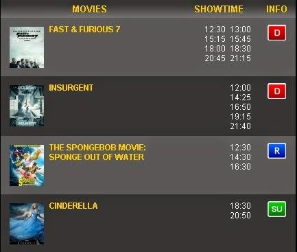 Jadwal Bioskop Paragon XXI Semarang