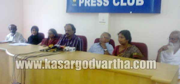 Press meet, Endosulfan, Collectorate, Press Club, Medical-camp, Kerala, Kasaragod
