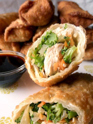 Chicken Eggrolls Recipe