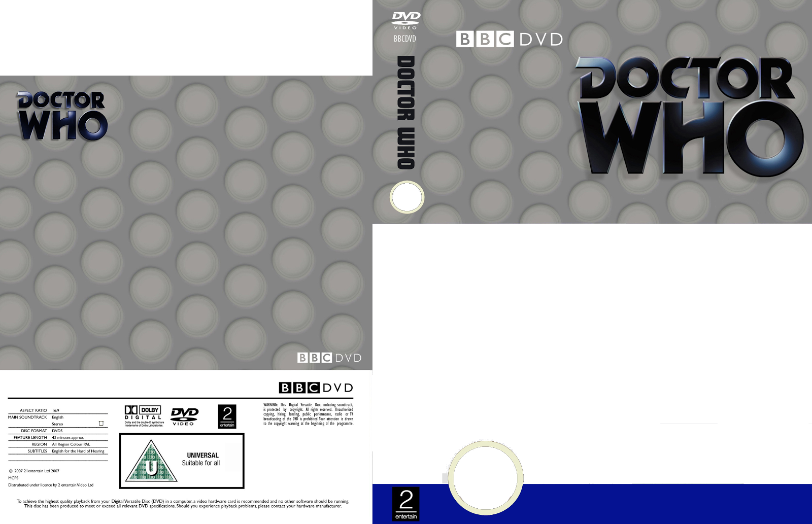 my doctor who dvd covers templates. Black Bedroom Furniture Sets. Home Design Ideas
