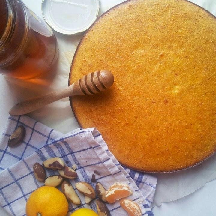 Brzi kolač od klementina (mandarina)