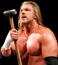 wwe: THE GAME TRIPLE H