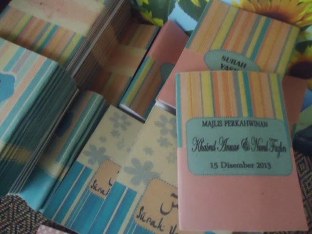 Doorgift perkahwinan sweet love for Idea door gift kahwin 2013