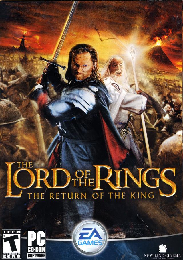 The Lord of the Rings The Return of the King pc game ...
