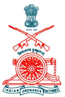 Ordnance Factory Varangaon, Maharashtra, 10th, Clerk, ordnance factory logo