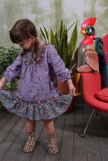 Siaomimi Mia Dress | Chichi Mary Kid's Boutique