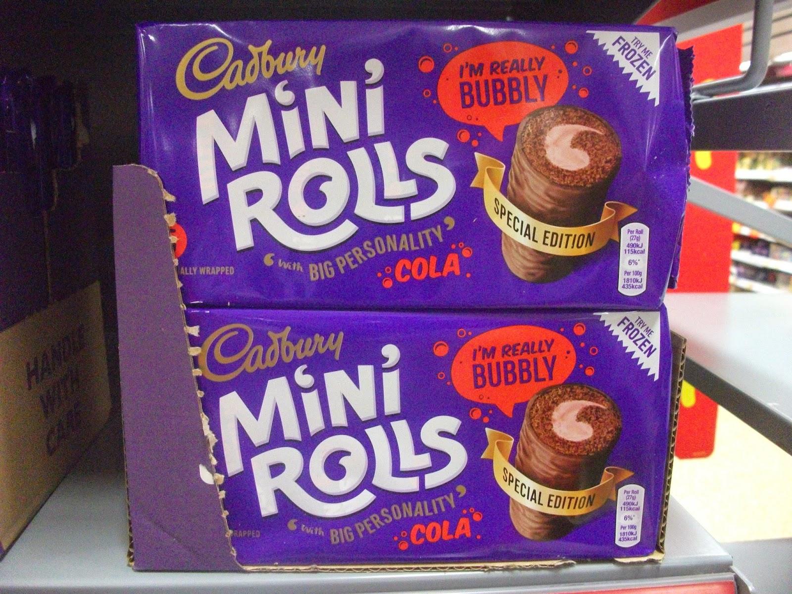 Cadburys Mini Roll Advert Cadbury Mini Rolls Cola