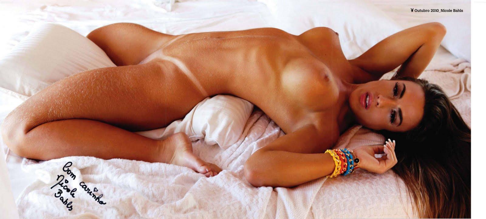 Nicole Bahls Nude Playboy