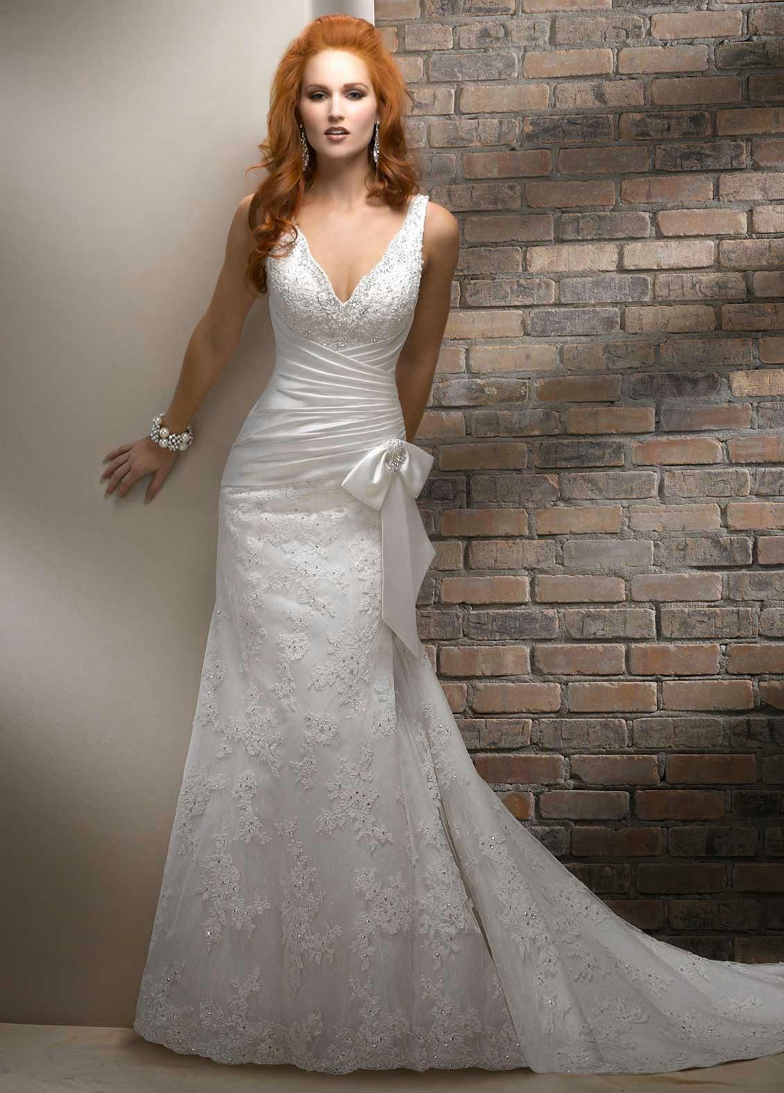 Strapless Mermaid Wedding Dresses Ideas Photos HD