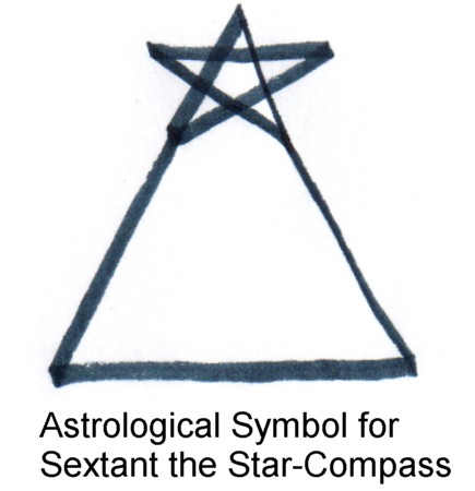 Norwegian Heritage Symbols Symbol for sextant the star