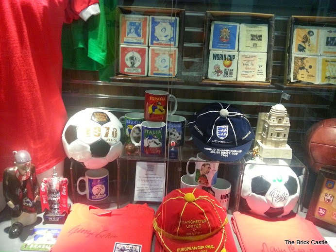 The National Football Museum at Urbis, Manchester memorabilia