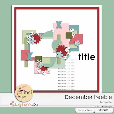 Pickle Barrel December - $ 1 sale - freebies